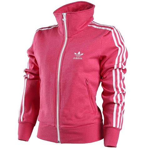 Jaket Adidas Zipper By Snf2012 adidas womens pink firebird zip cotton blend fleece