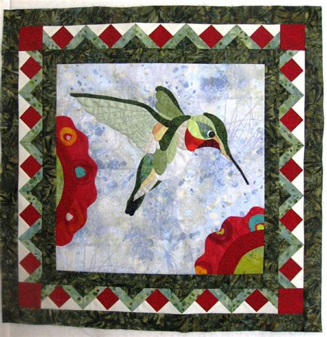 Quilt Patterns With Birds by 1000 Images About Hummingbird Applique Quilts Patterns