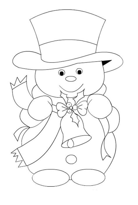 cute snowman coloring pages snowman embroidery pattern best one yet coisas que adoro