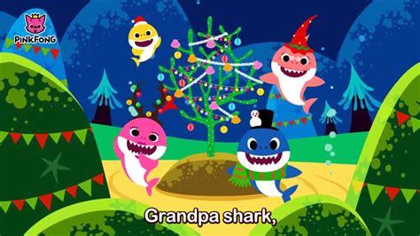 baby shark christmas baby shark christmas sharks youtube