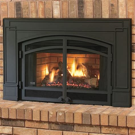 continental cbi360 gas fireplace natural vent insert w