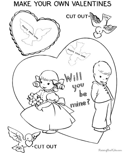 Coloring Pages San Valentine | san valentine coloring page 024