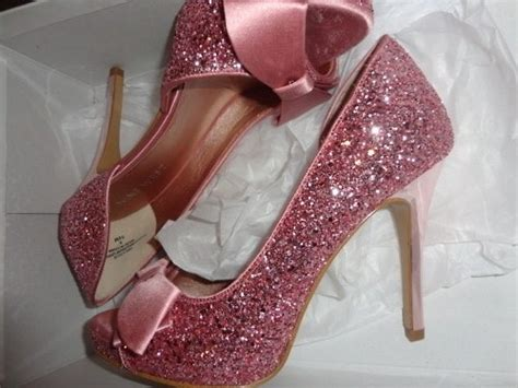 need help pink glitter shoes weddingbee