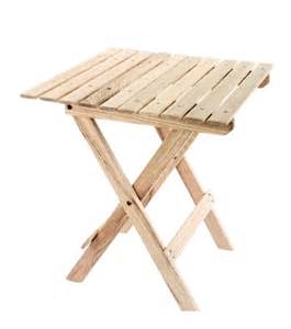 Portable wood beach table beach tables