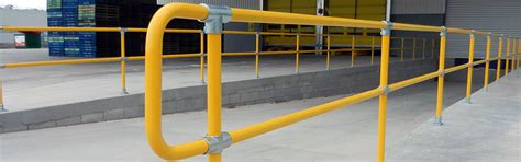 Handrail Guards Key Cl Store Galvanised Key Cl Handrail Fittings