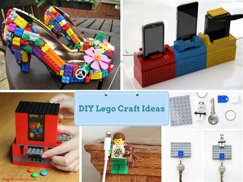 23 diy easy lego craft ideas for its