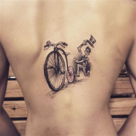 chasing bicycle tattoo best tattoo ideas gallery