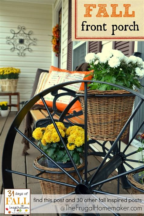 31 days of fall inspiration fall front porch