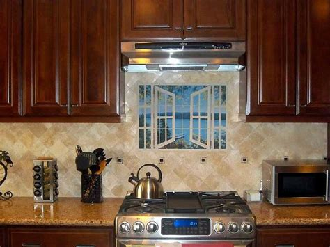 kitchen backsplash mural pics photos tile mural kitchen tile backsplash pics