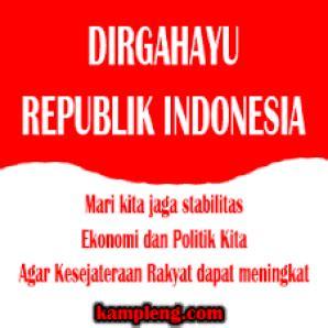 kata kata mutiara menyambut kemerdekaan ri 17 agustus dp bbm ucapan hari kemerdekaan indonesia hut ri ke 72