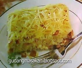 Makaroni Kocok resep masakan makaroni panggang gudang resep masakan