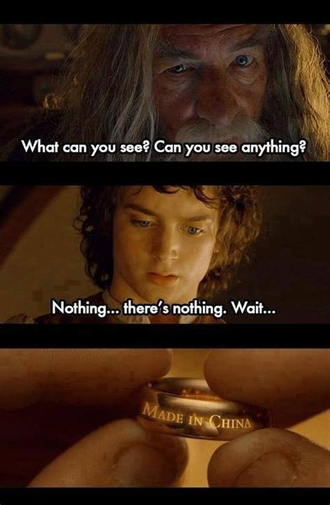 Lord Of The Rings Memes - mysterious demonic ring eating away boy s finger
