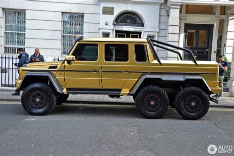 mercedes 6x6 mercedes g 63 amg 6x6 8 august 2016 autogespot