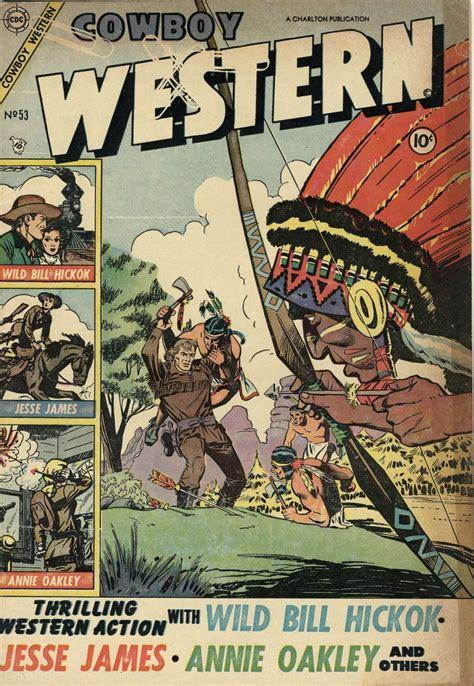 Westerns Graphic Novels Comics Books Cowboy Western 53 Charlton Comic Book Plus