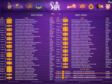 ipl 2017 list download ipl team chart 2016 calendar template 2016