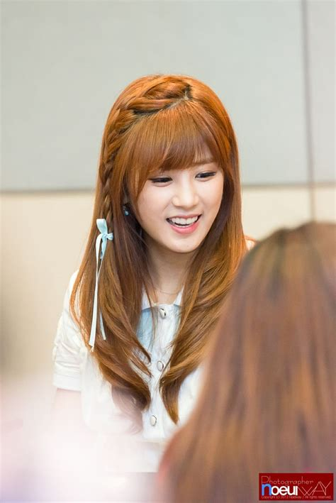 cute hairstyles kpop 126 best chorong a pink images on pinterest korean