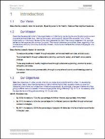 business goals and objectives template plan template vision goals and objectives