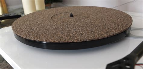 Turntable Mat by Analogue Studio Cork Rubber Turntable Mat