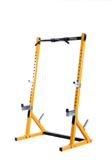 half rack bench press powertec fitness half rack olympic weight gym multi press