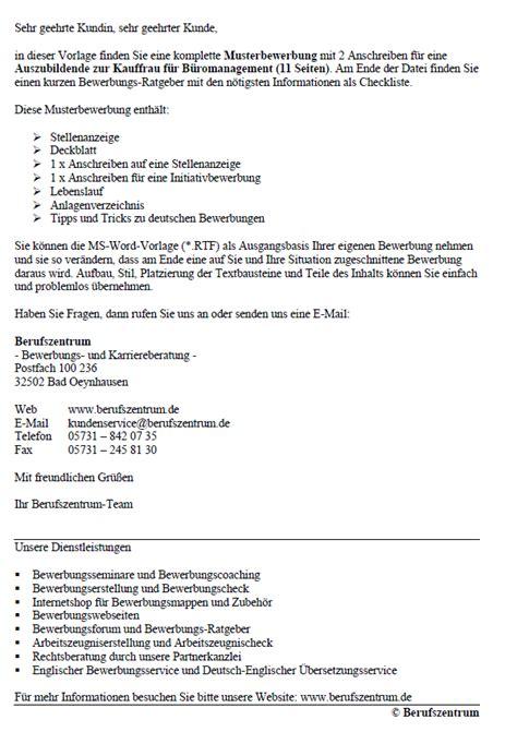 Bewerbungsschreiben Ausbildung Kauffrau Büromanagement Bewerbung Kauffrau F 252 R B 252 Romanagement Ausbildung Sofort