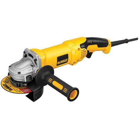 dewalt 120 volt 4 1 2 in x 6 in corded angle grinder