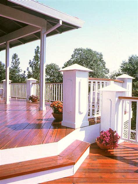 wood decking materials hgtv