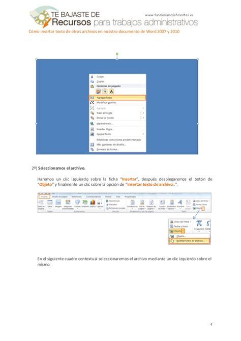 c 243 mo insertar un pdf en word mil comos mil comos insertar textos a una imagen en word 2007 y 2010 c 243 mo