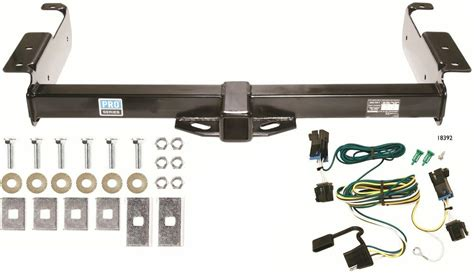 gmc savana van trailer hitch  wiring kit class  tow receiver  ebay