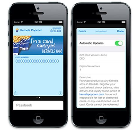 Gift Cards In Passbook - moneris adds apple s passbook support for merchant gift and loyalty cards iphone in