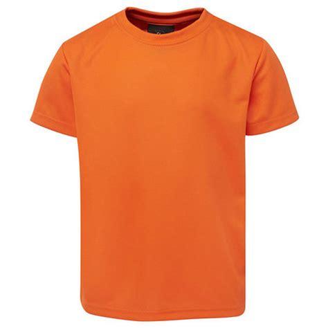 Tshirt Orange s poly sports t shirts australia plain