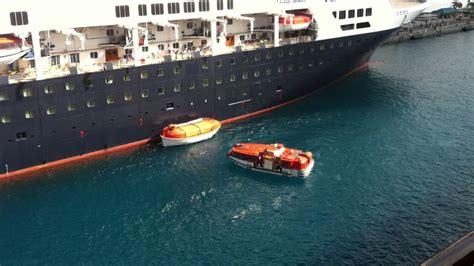 boat crash dream watch this cruise ship life boat crash lifeboat