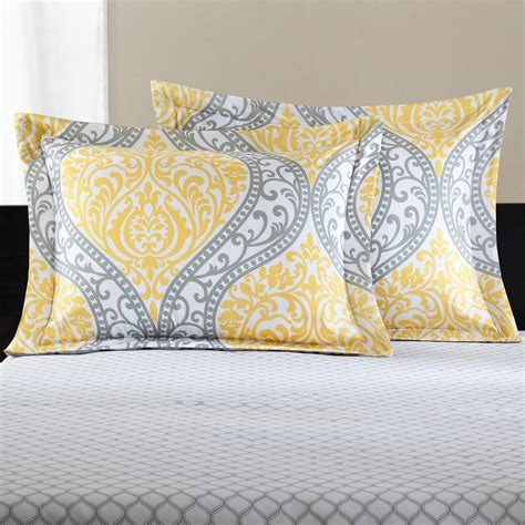 yellow damask comforter mainstays yellow damask coordinated bedding set bed in a bag