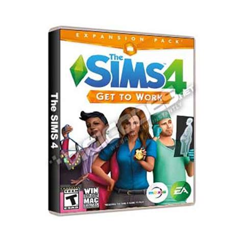 Pc The Sims 4 Get To Work Origin Dlc jual pc the sims 4 get to work dlc addon for pc