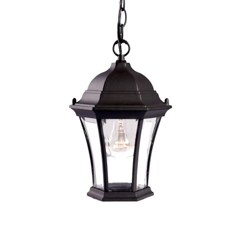 Light Fixture Collections Acclaim Lighting Brynmawr Collection Hanging Lantern 1 Light Outdoor Matte Black Light Fixture