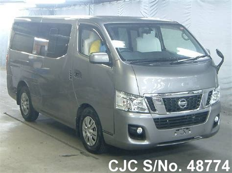 nissan caravan 2013 2013 nissan nv350 caravan gray for sale stock no