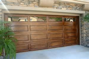 Faux Garage Door Windows Inspiration Faux Wood Paint On Metal Garage Door Beautiful A Interior Design