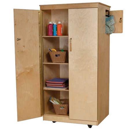 Lockable Wardrobe Cabinet by Wood Designs S Lock It Up Cabinet Wd18400