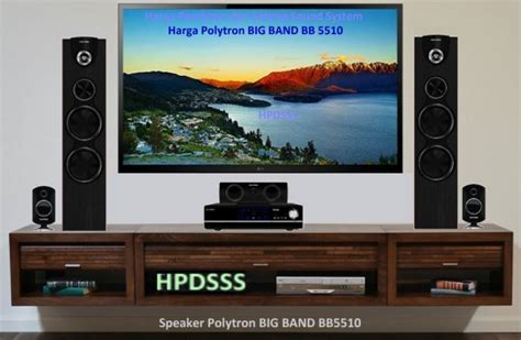 Home Theater Polytron Big Band harga polytron big band bb 5510 usb speaker aktif