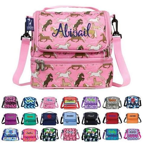 Souvenir Lunch Bag Decker 9 monogrammed backpacks lunch bags back to school giftshappenhere gifts happen here