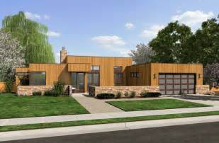Modern Ranch Home Plans The Queensbury Contemporary Ranch House Plan