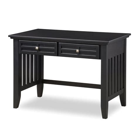 Shop Home Styles Arts And Crafts Black Student Desk At Home Student Desk
