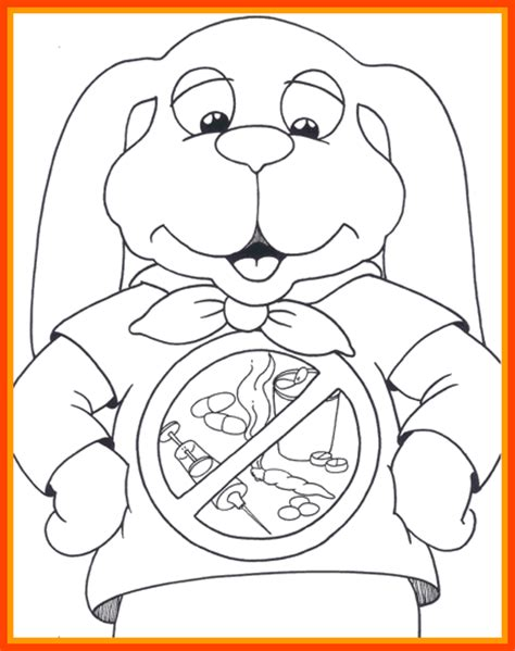 anti drug coloring pages coloring home