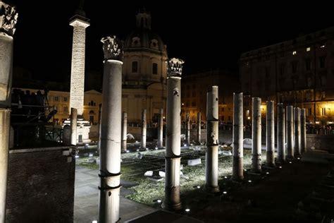 illuminazione a led roma fori imperiali la nuova illuminazione di storaro 1 di 1