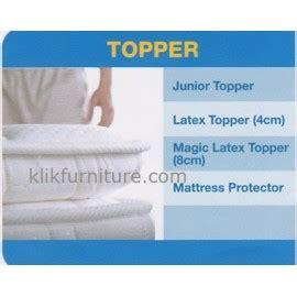 Magic Topper 8cm 100x200cm Comforta Bed accessories comforta springbed bantal guling topper dan