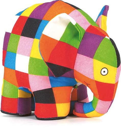 Elmer Patchwork - elmer the patchwork elephant plushpaws co uk