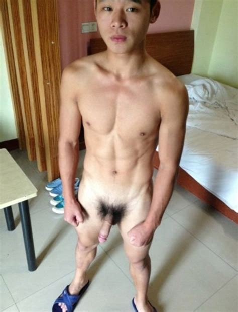 Asian boy totally nude In His Room nude Man Post