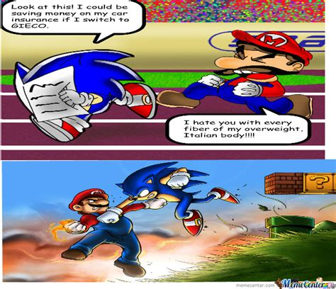 Toilet Paper Funny Mario And Sonic By Xxkamelxx Meme Center