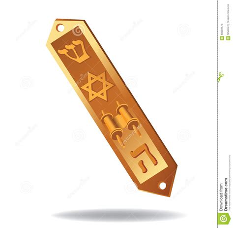 eps clipart mezuzah eps 10 vector illustration stock vector image
