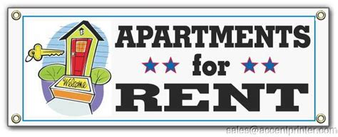 Appartment For Rent by Apartments For Rent Vinyl Outside Banner Sign Ebay