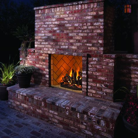 Outdoor Vent Free Gas Fireplace by Ihp Superior Vre6000 Vent Free Outdoor Gas Fireplace